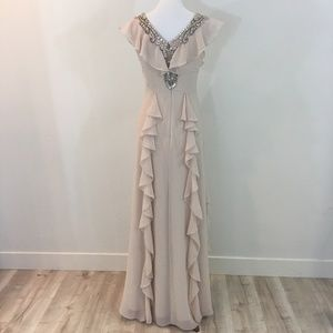 NWT Aidan Mattox Evening Dress Size 2 $495